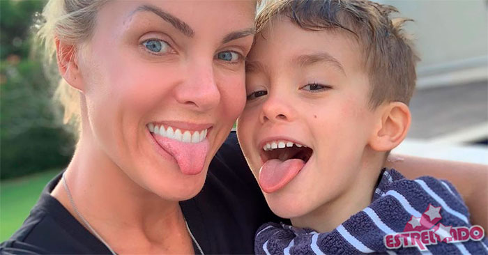 4974a0c844fc4 Filho de Ana Hickmann completa cinco anos de idade e recebe mensagens fofas  da família