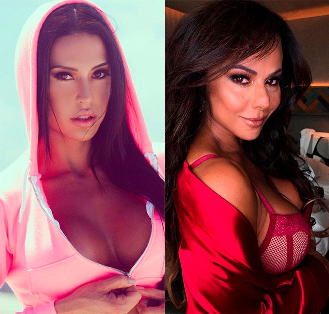 0728b8e0d Gracyanne Barbosa diz que começará a revelar coisas de Viviane ...