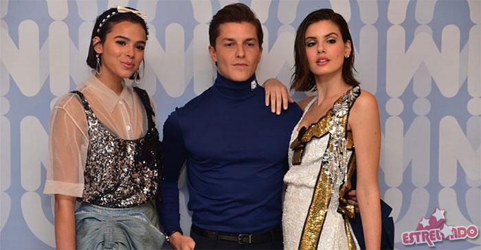 cb45491ec Bruna Marquezine, Klebber Toledo, Camila Queiroz e mais vão a evento de  moda, confira fotos! - Estrelando