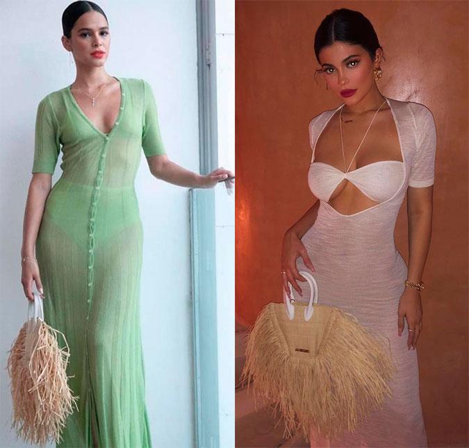 Bruna Marquezine Usa Bolsa Igual A De Kylie Jenner E Seu