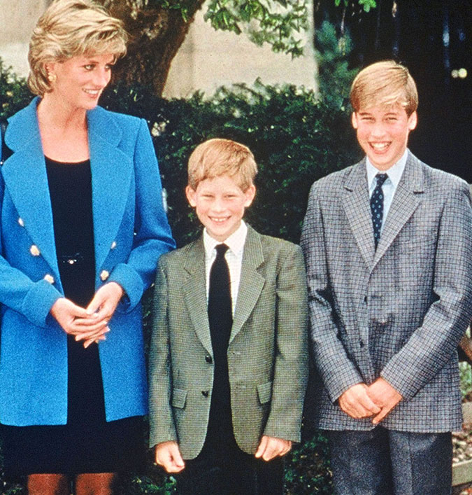 Revelada a forma como os príncipes William e Harry passam aniversário de  morte de princesa Diana, descubra - Estrelando