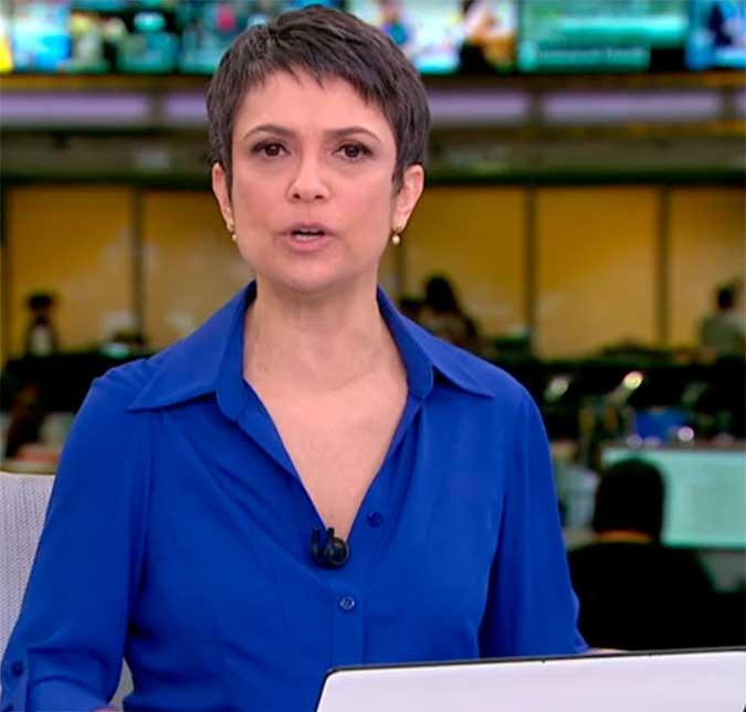 Sandra Annenberg Se Despede Do Jornal Hoje Fiz Meu Trabalho