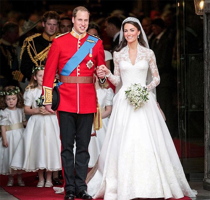 No Dia De Seu Casamento, Príncipe William Ajudou O