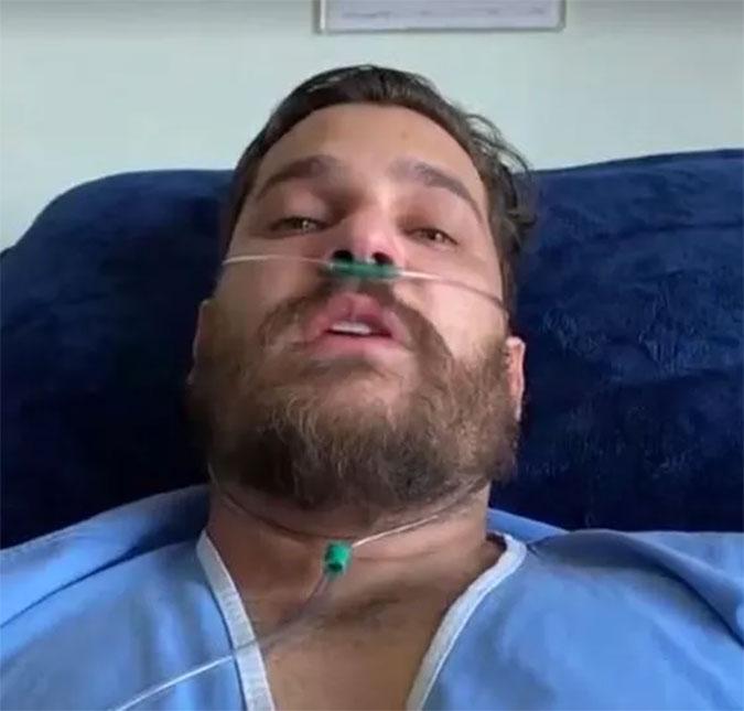 Sertanejo Cauan Máximo diz que queria morrer enquanto estava na UTI e cita  vídeo em que ironiza Covid-19: - Era muito insensato - Estrelando